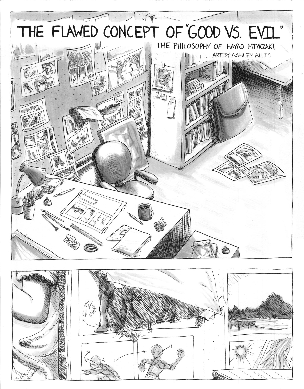 Ashley allis miyazaki comic page 1