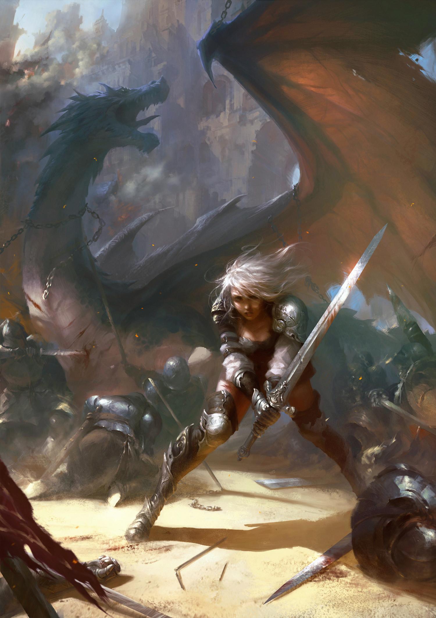 Felix liu dragon