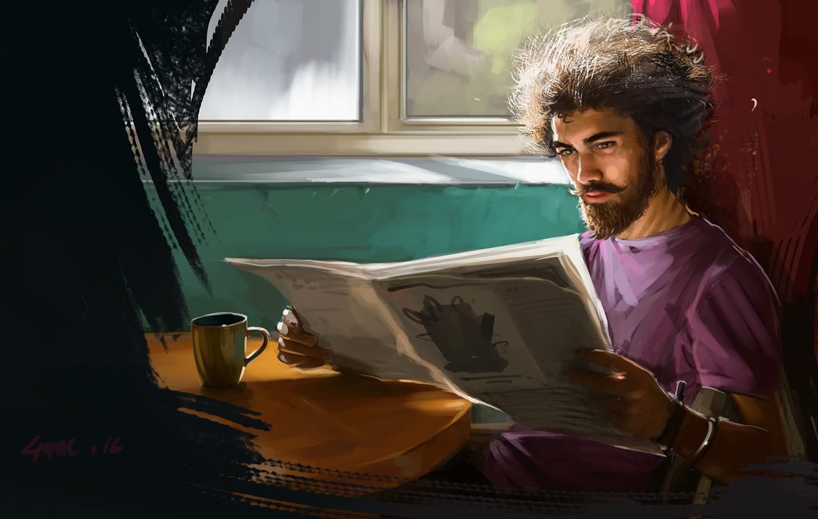 Artstation Good Morning Light Study Gopal Das