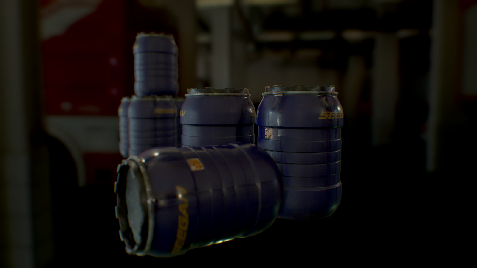 Alien Isolation Containers