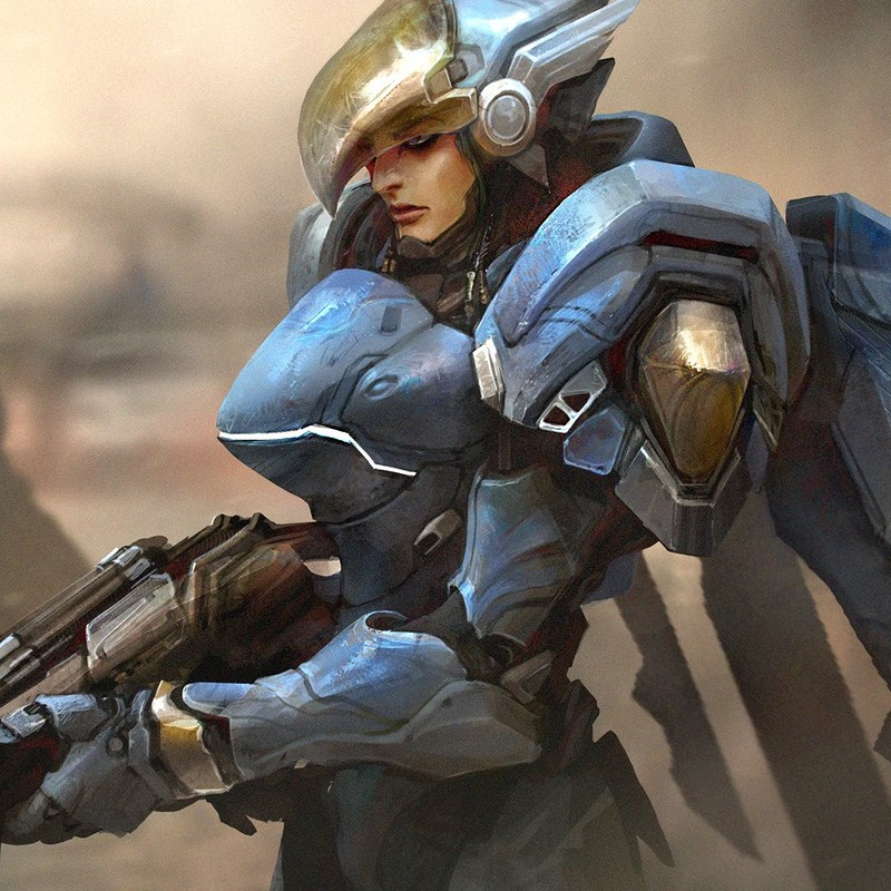 OVERWATCH: Pharah - Justice rains from above!