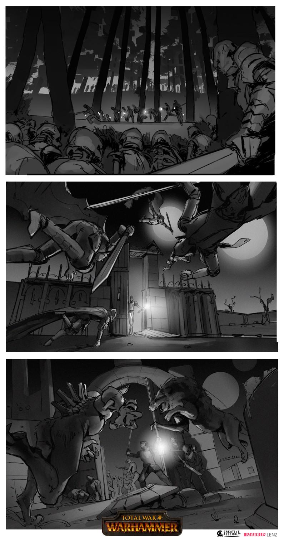 Markus lenz creativeassembly tww vampires sketches markus lenz