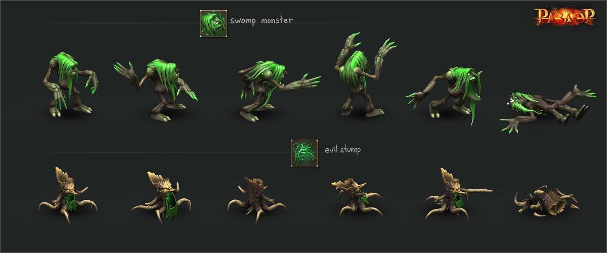 Vladimir voronov razdor swamp monsters