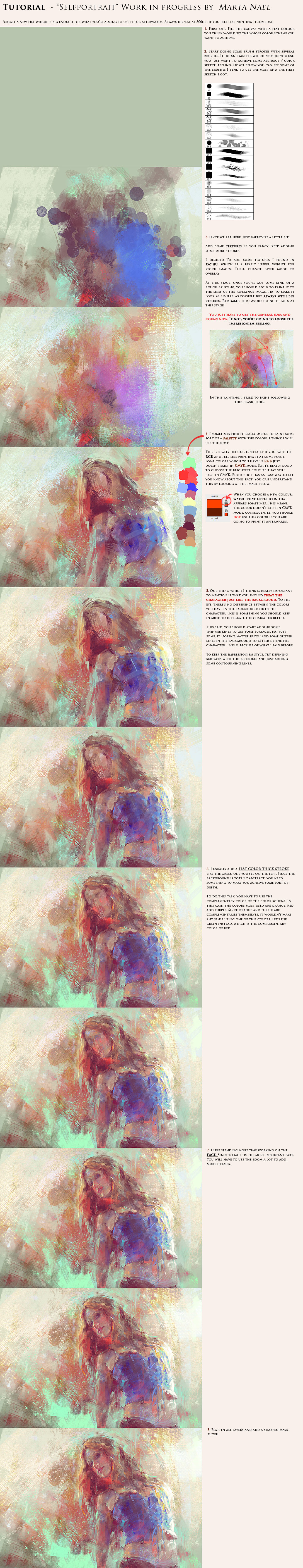 Marta nael digital impressionism tutorial by martanael d31to6m