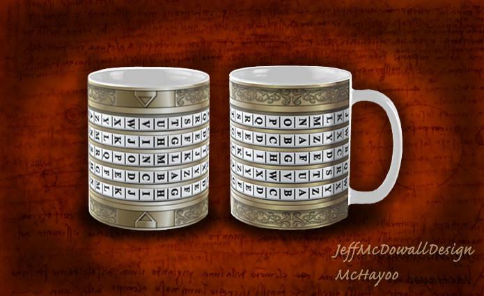 Jeff mcdowall da vinci mugs
