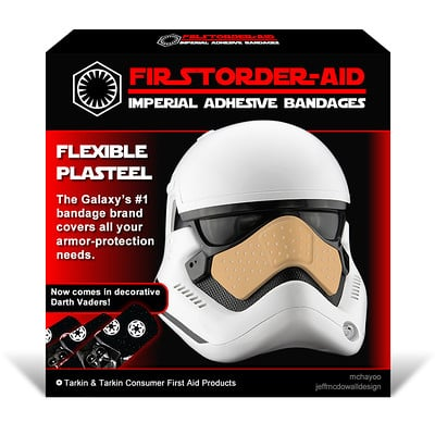 Jeff mcdowall firstorder aid box by jeffmcdowalldesign