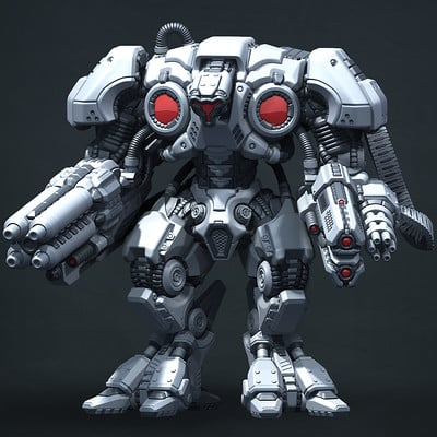 Vladimir voronov warmachine highpoly01