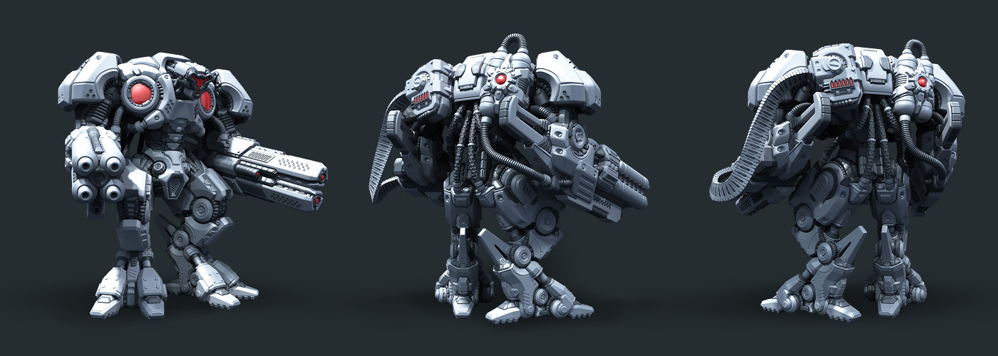 Vladimir voronov warmachine highpoly08