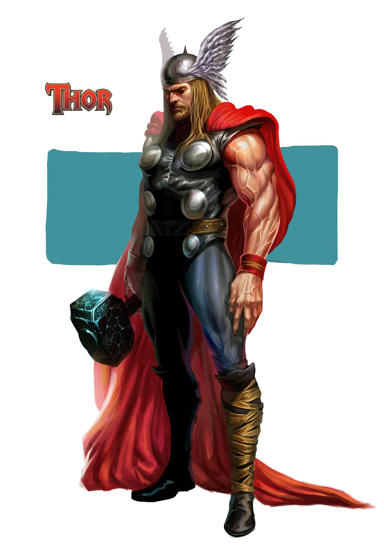 Artstation thor fan art - Thor art wallpaper ...