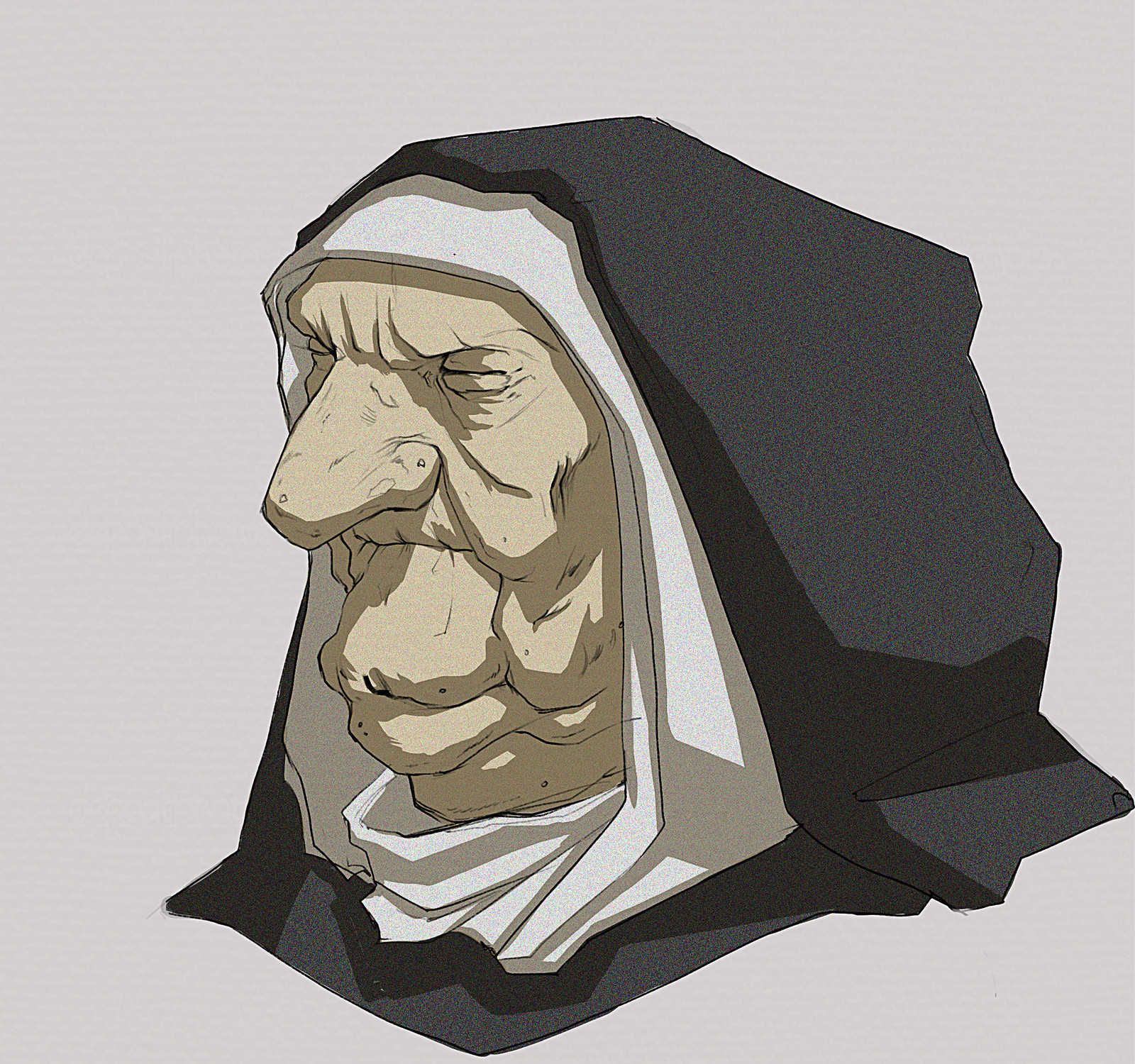 Nun portrait