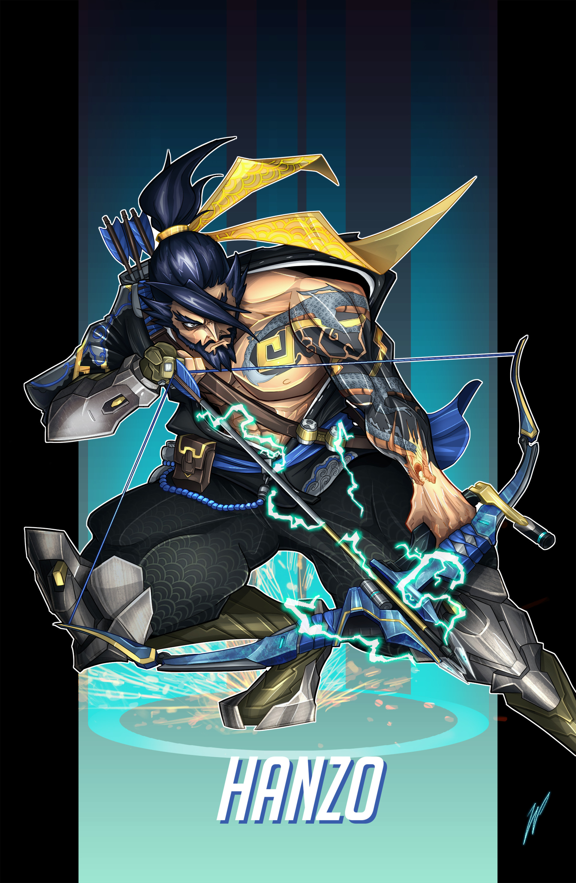 Overwatch best hanzo crosshair