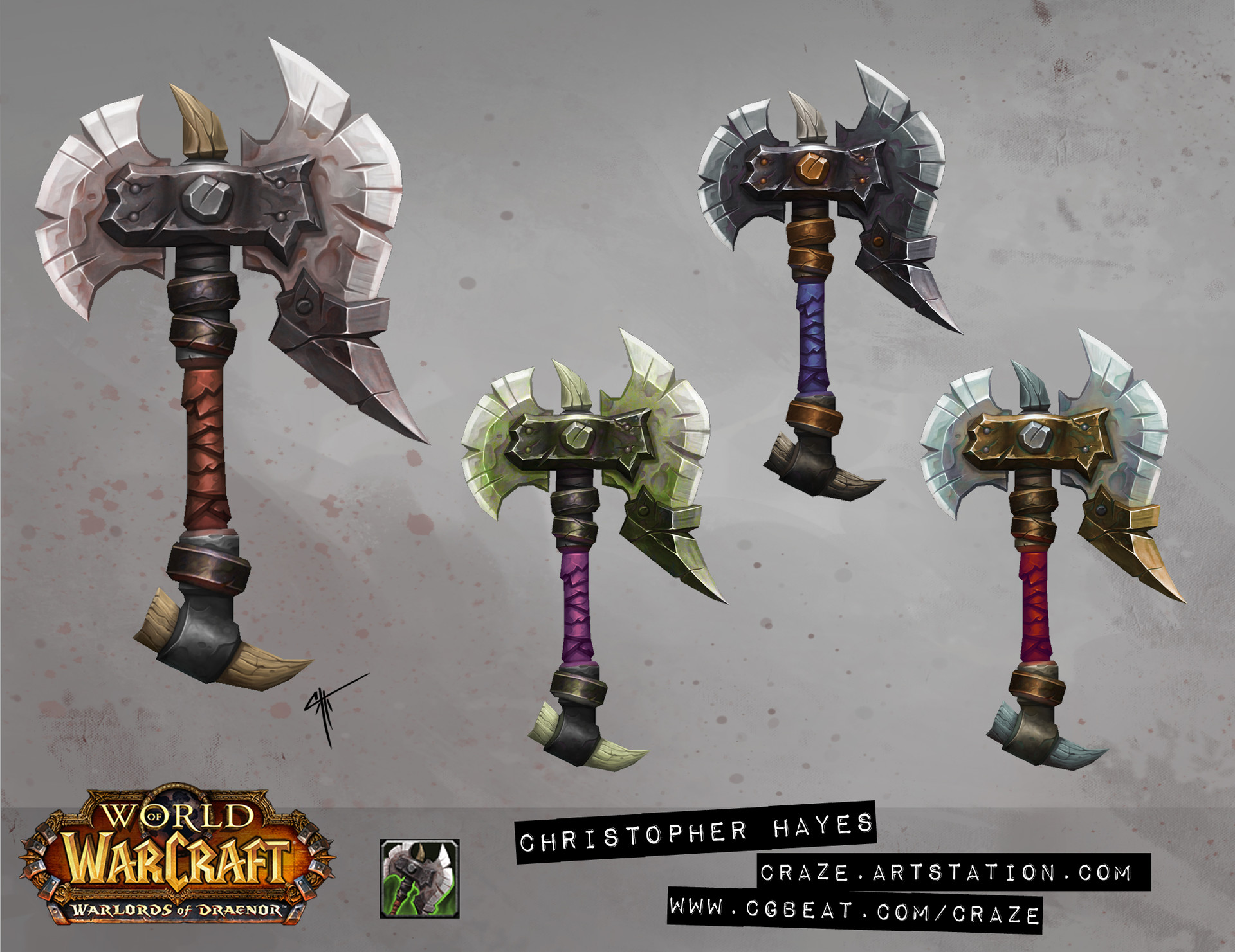 Christopher hayes axe 02 draenor