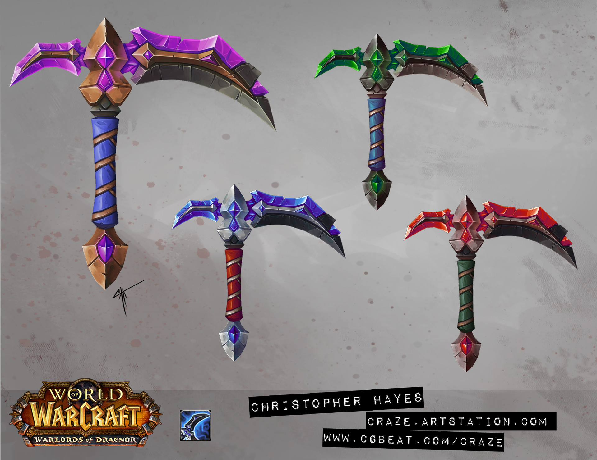 Christopher hayes axe 03 draenor