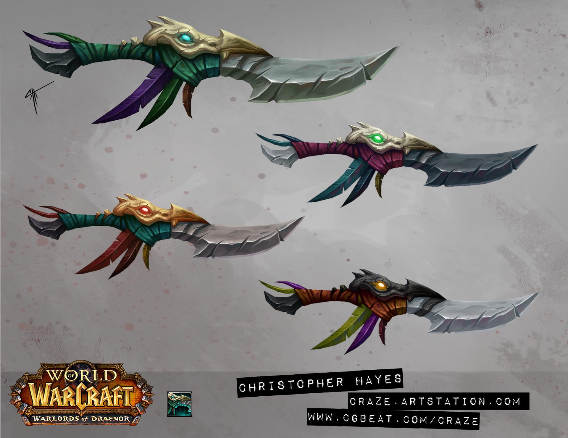 Christopher hayes dagger 01 draenor