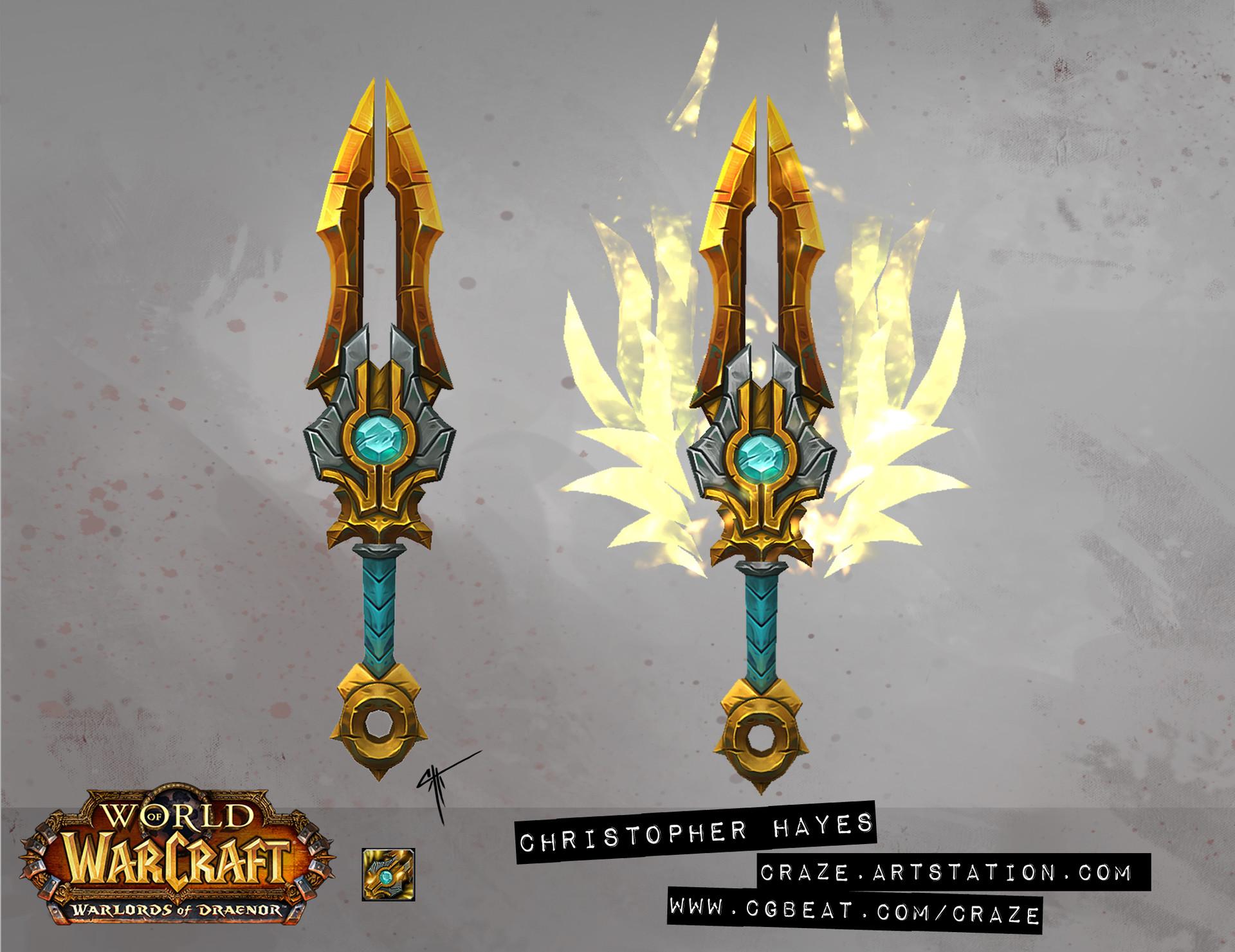 Christopher hayes dagger 03 draenor