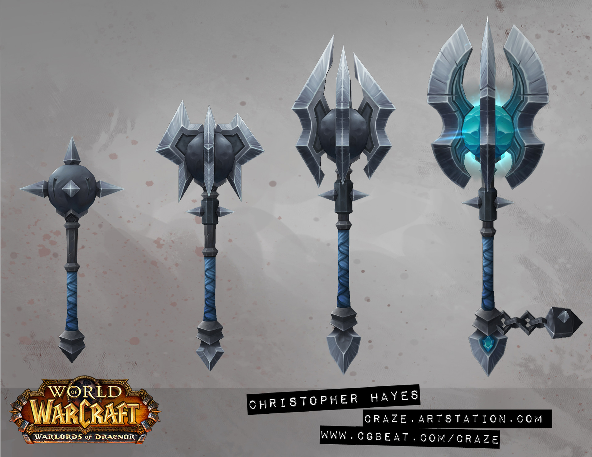 Christopher hayes axe crafted draenor 02