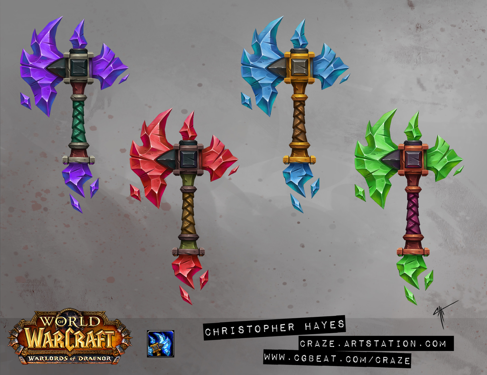Christopher hayes crystal axe