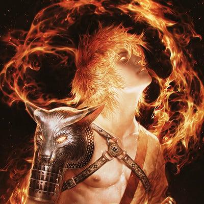 Valentina remenar in flames by valentina remenar