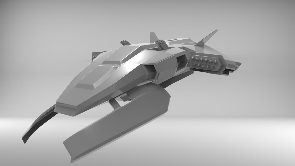 Cloud Hopper - Assault Ship