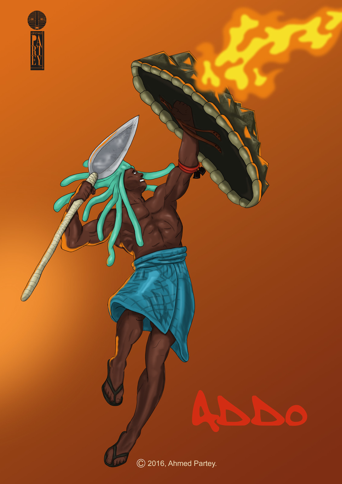 Addo, warriors from an imaginary past.