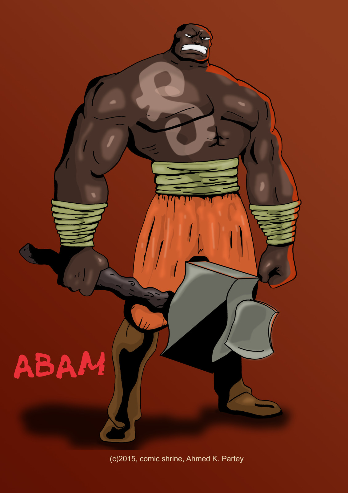 Abam, warriors  from the past
