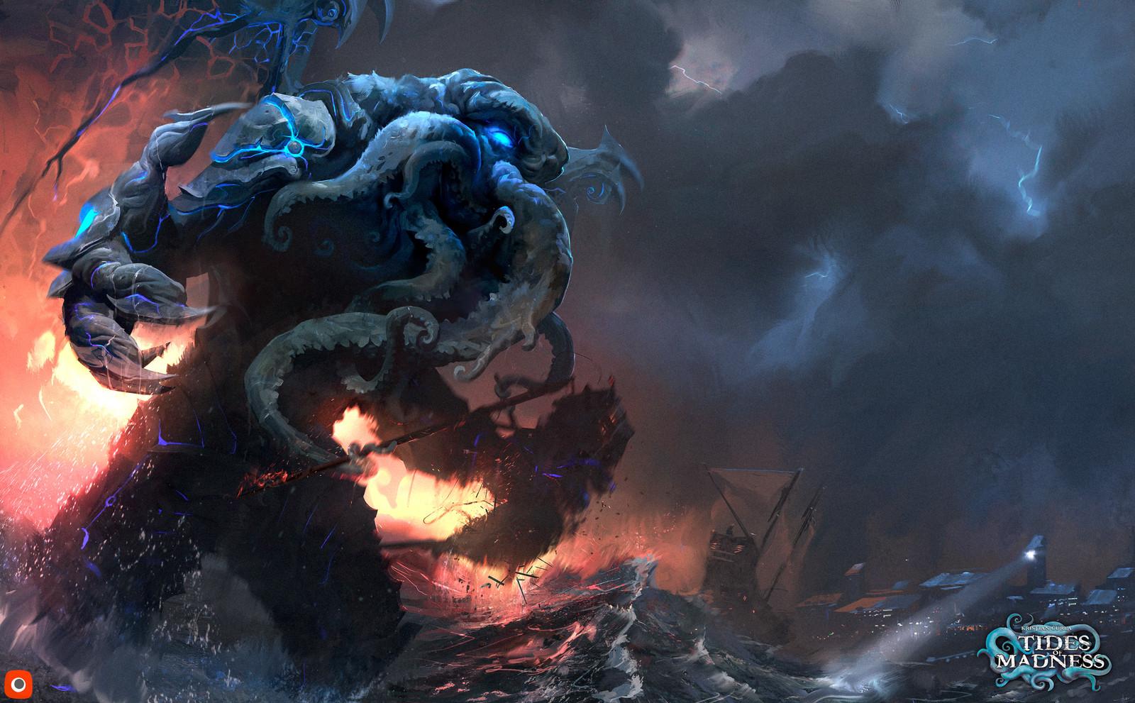 'Tides of Madness: Cthulhu (KeyArt)