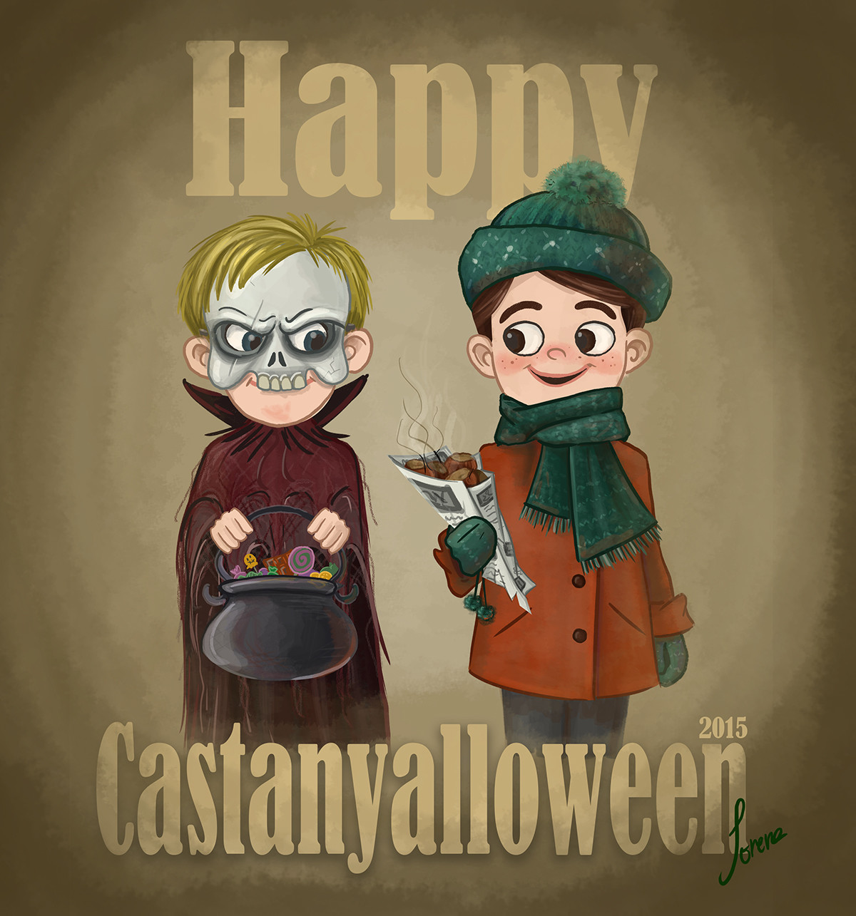 Lorena loguen happy castanyalloween by lorena loguen