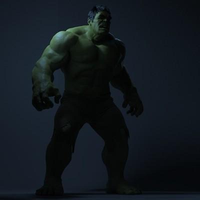 Robert kuczera marvel hulk 07