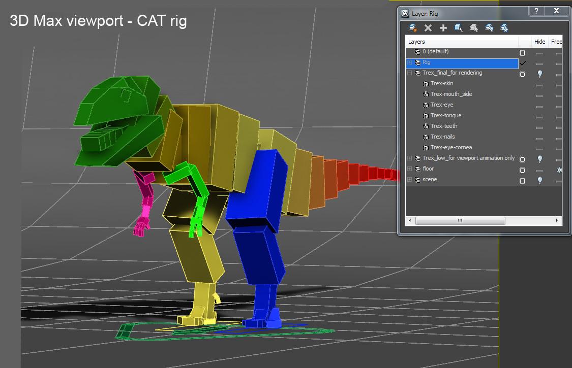 CAT rig