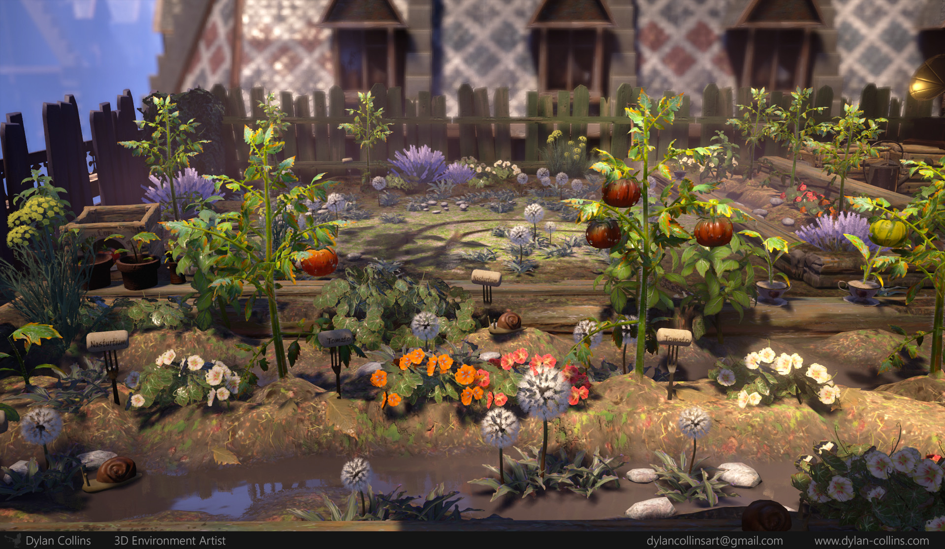 ArtStation - Lord of Horticulture: The Quest for Quaintness, Dylan ...