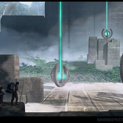 Travis lacey lights of eternety concept art travis lacey web