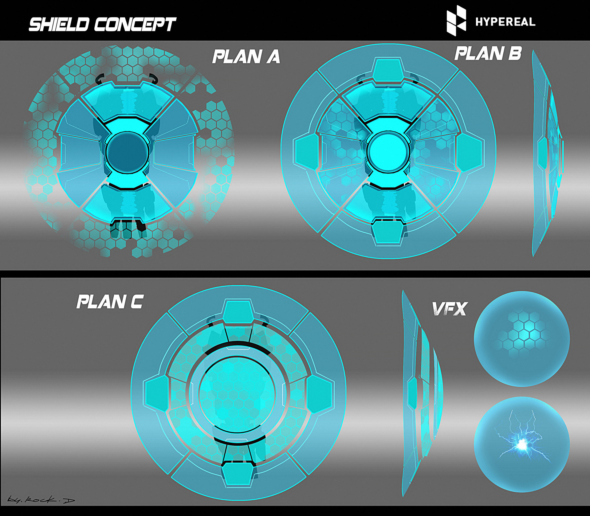 Rock d shield concept