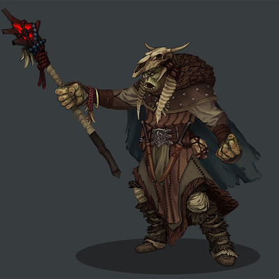 Greeme doe 020 orc shaman