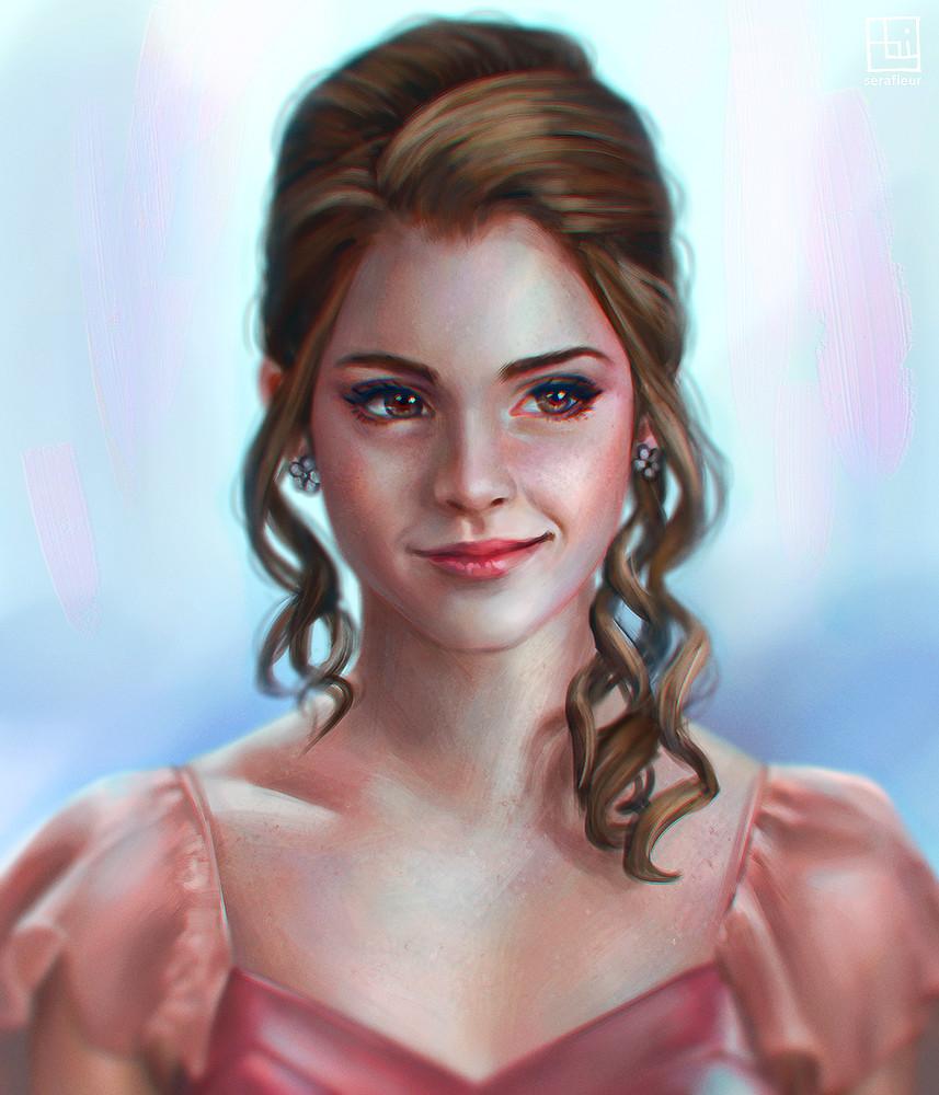Abigail diaz hermione by serafleur