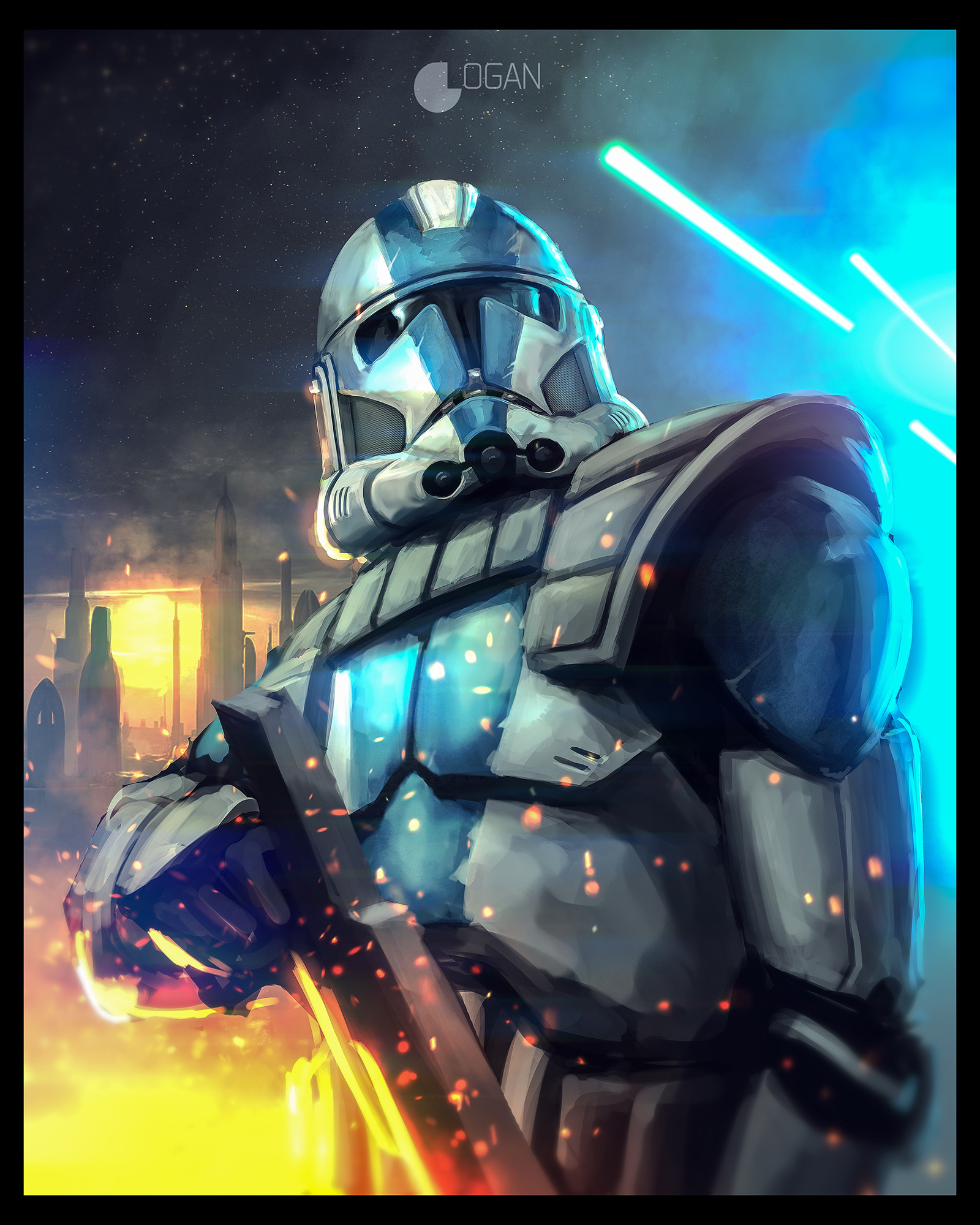 Charles logan clone trooper 2k