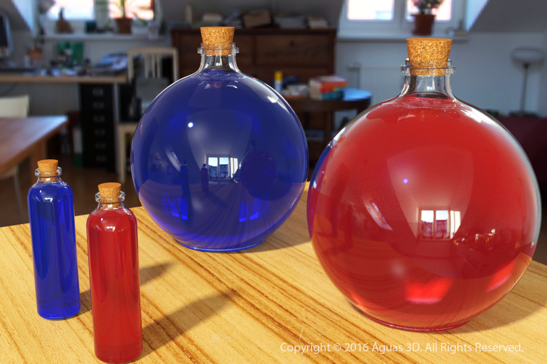 Potions for Mana and Health