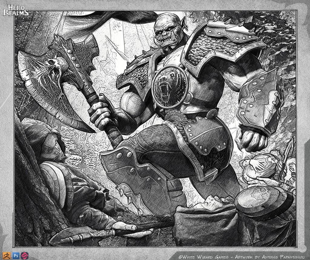 Antonis papantoniou orc grunt 3