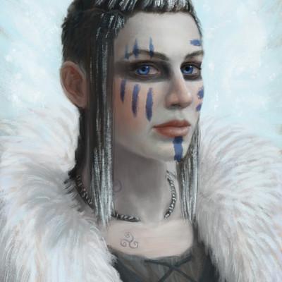 Nick lasovich nick lasovich celtic warrior woman
