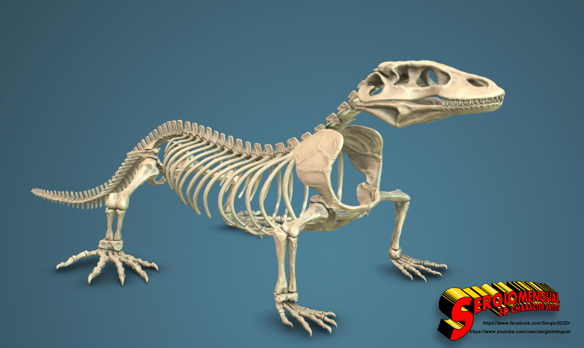 Autodesk Home Designer Sergio Gabriel Mengual Komodo Dragon Skeleton By Sergio