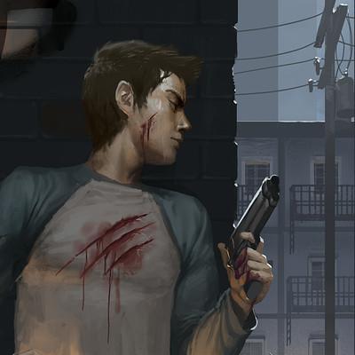 Diego rodriguez cover illustration rgb