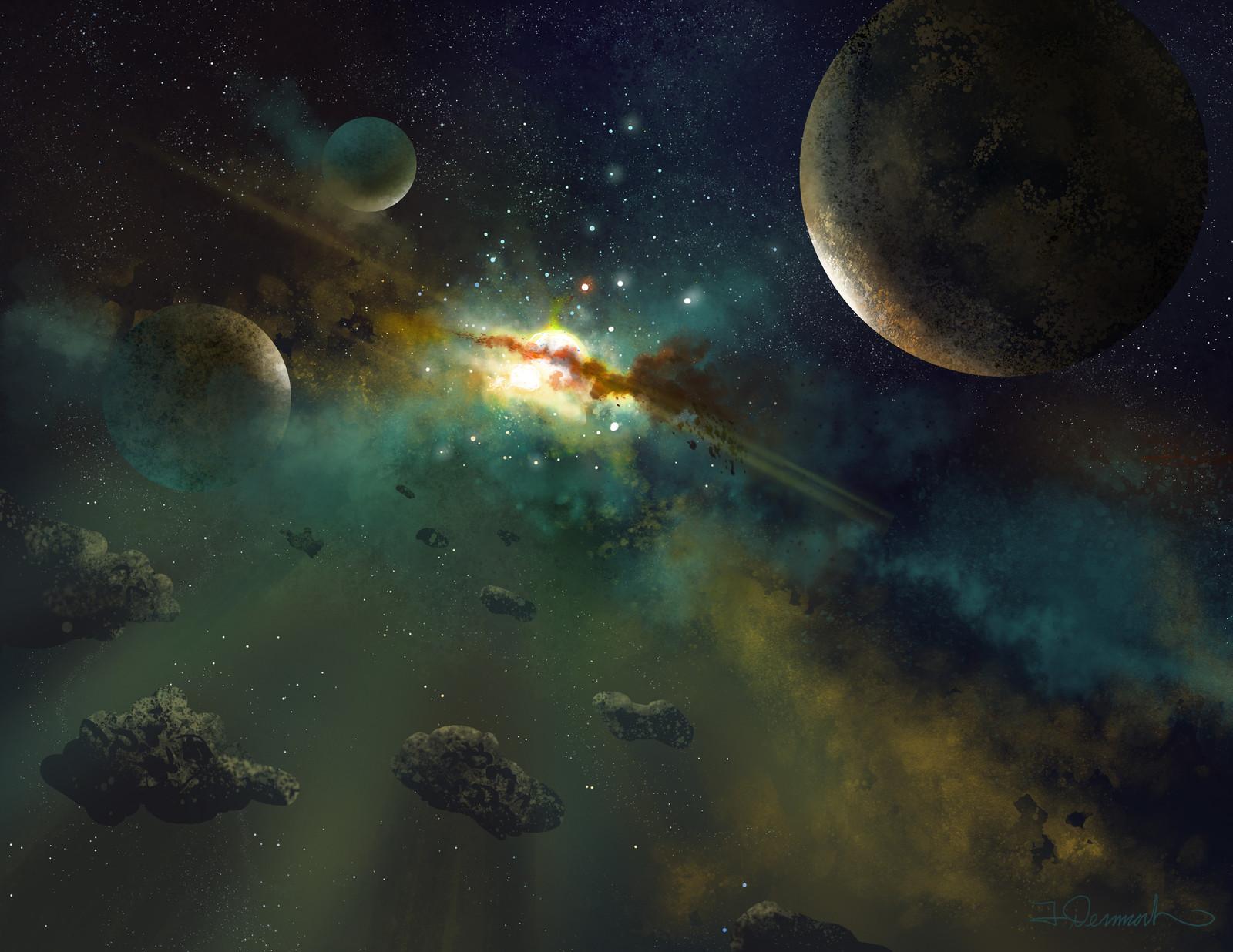 Star nursery in the Gemina cluster