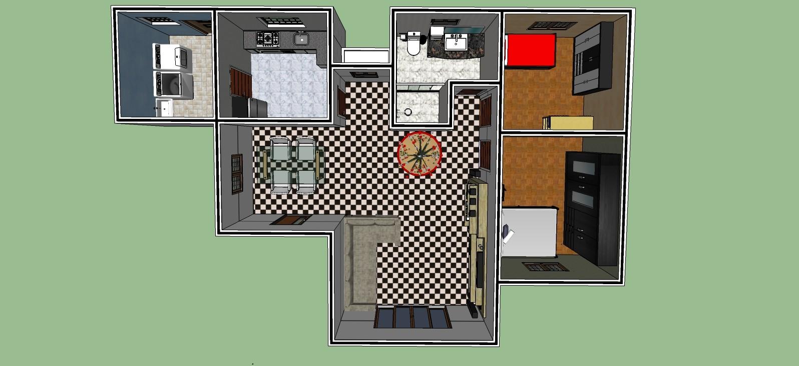 Aline de queiros trabalho grupo projeto casa completo