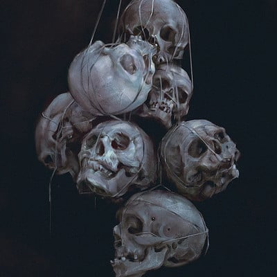 Yanjun cheng skulls