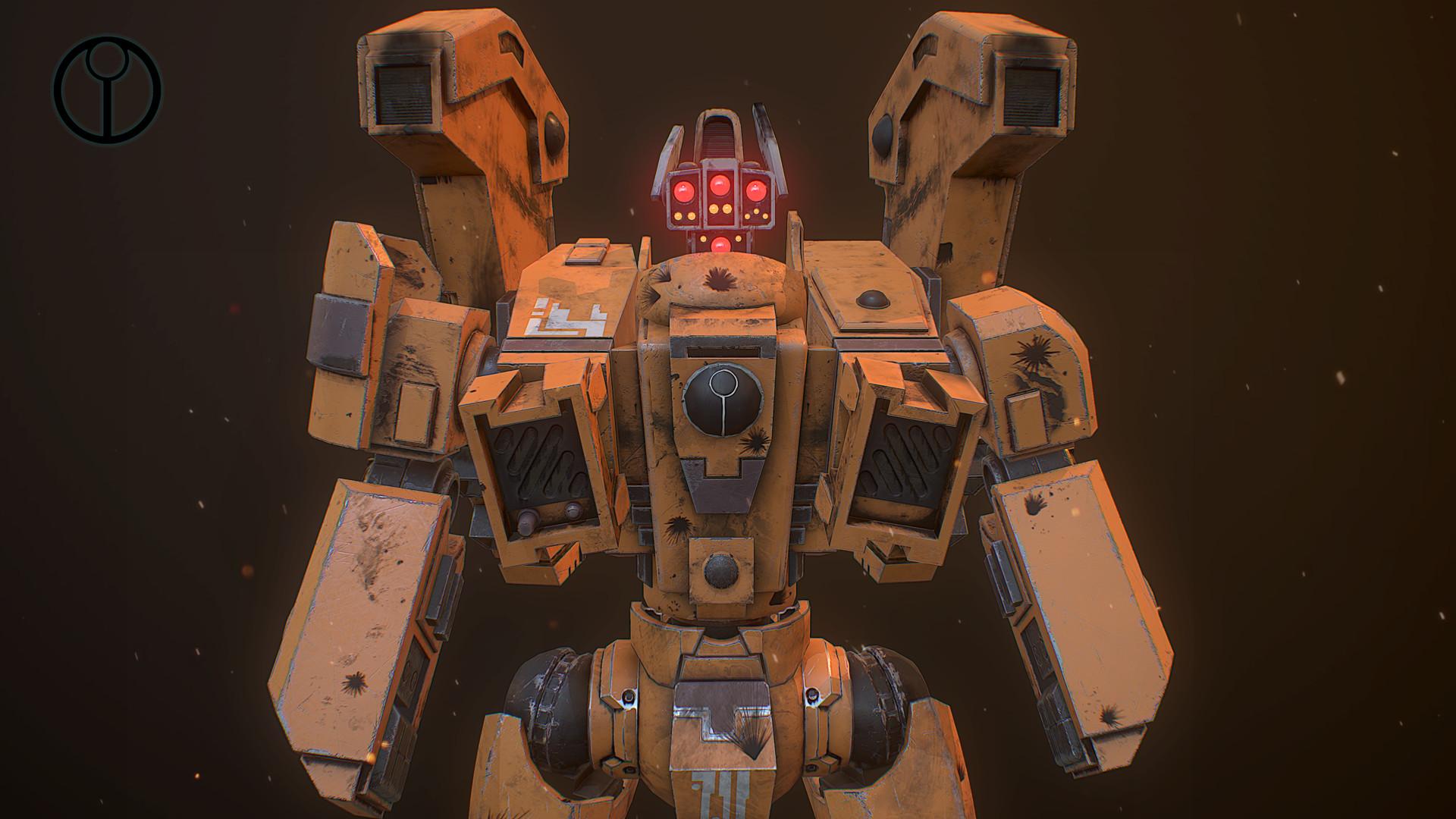 ArtStation - Tau Empire Riptide Battle Armour, Robert