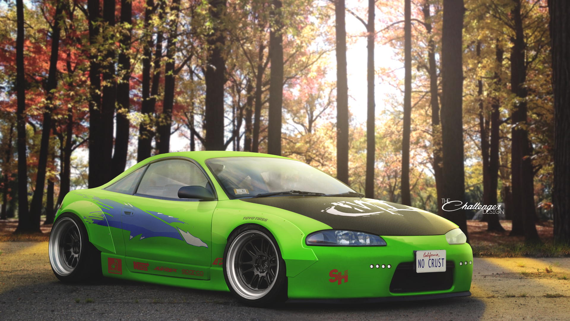 artstation mitsubishi eclipse fast and the furious abimelec