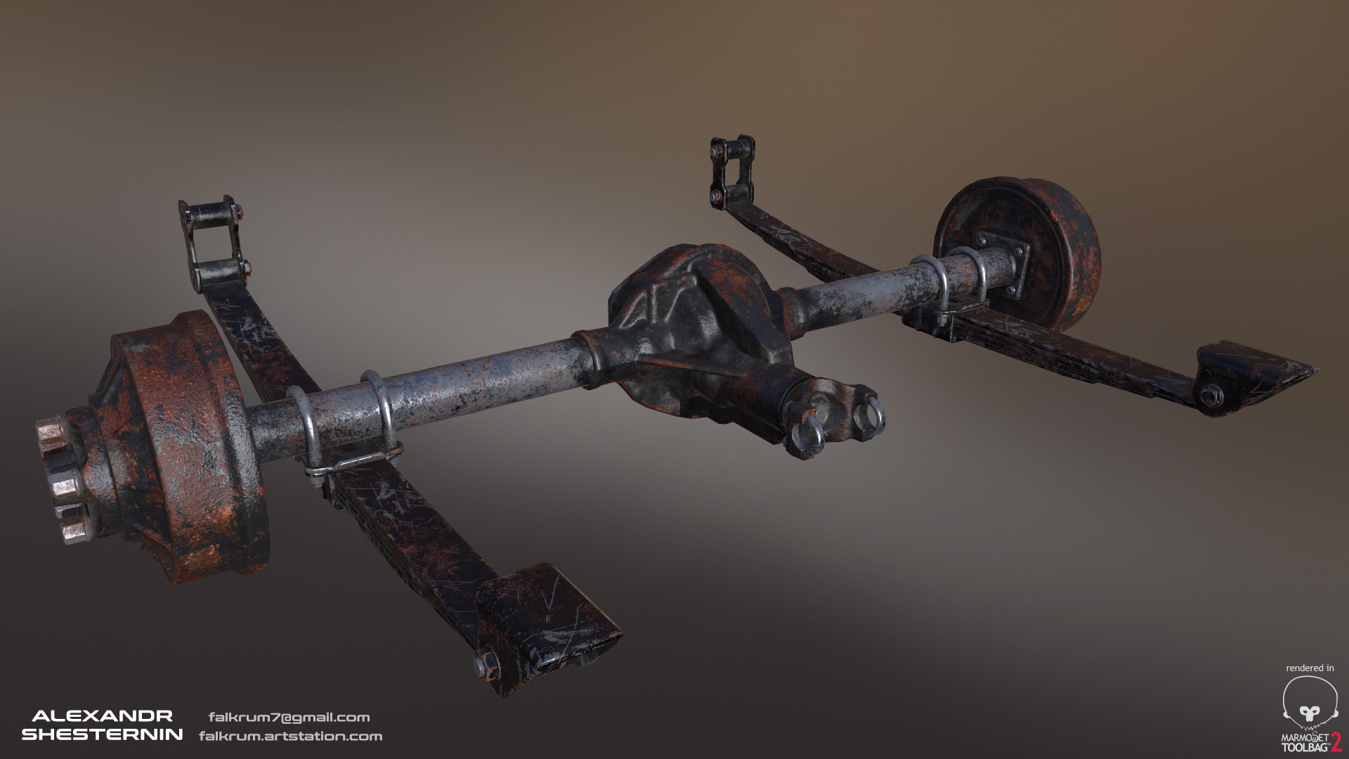 Alexandr shesternin rear axle03