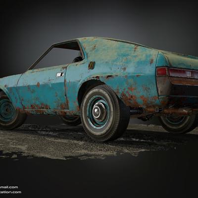 Alexandr shesternin modular abandoned car01