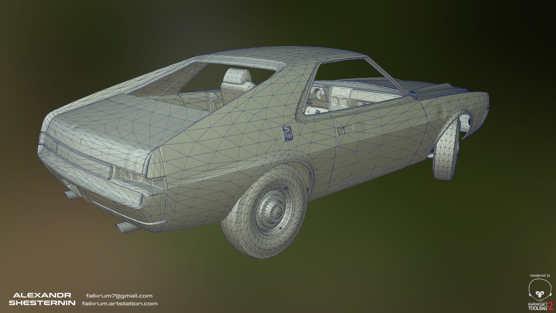 Alexandr shesternin modular abandoned car12
