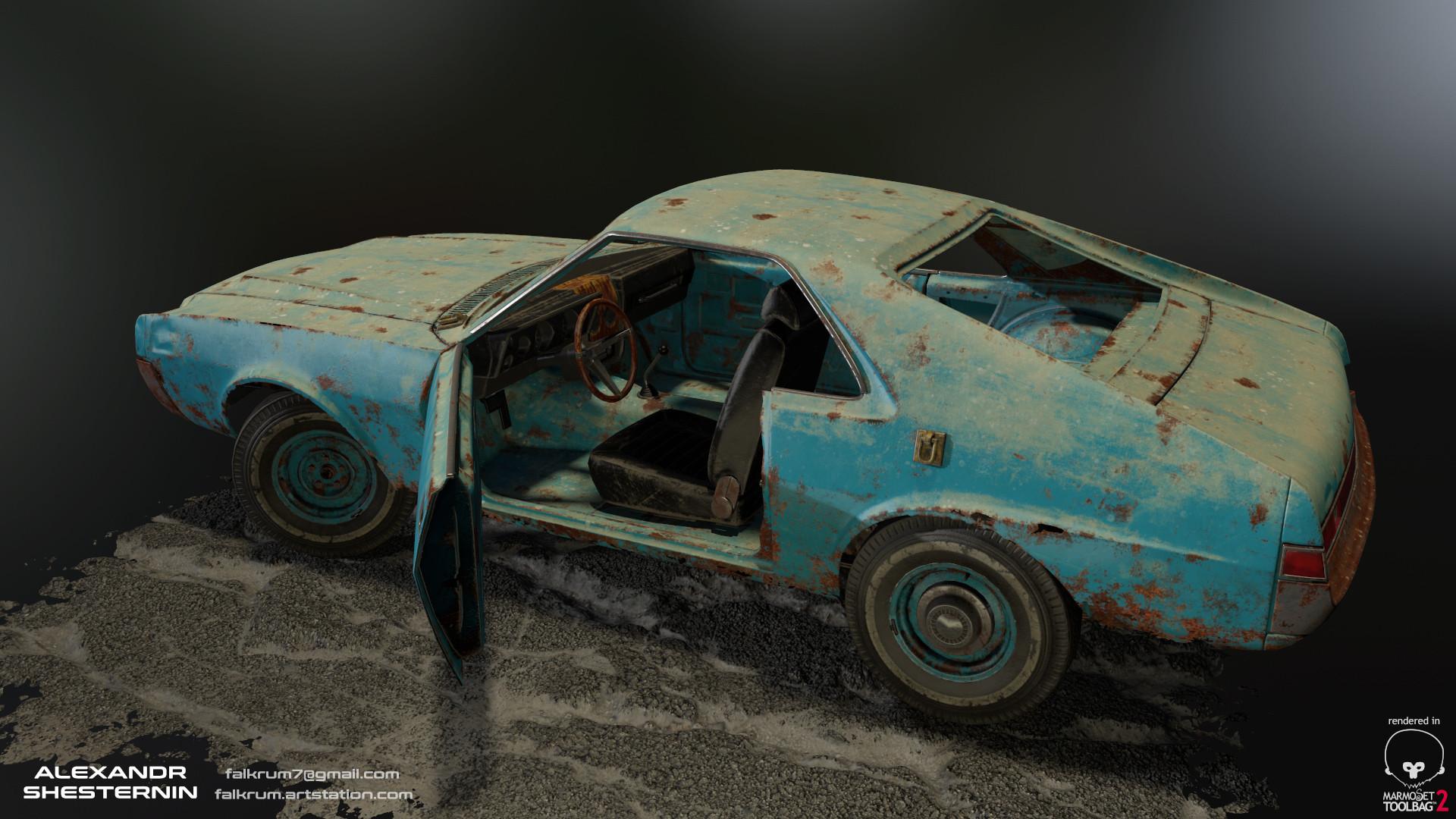 Alexandr shesternin modular abandoned car03