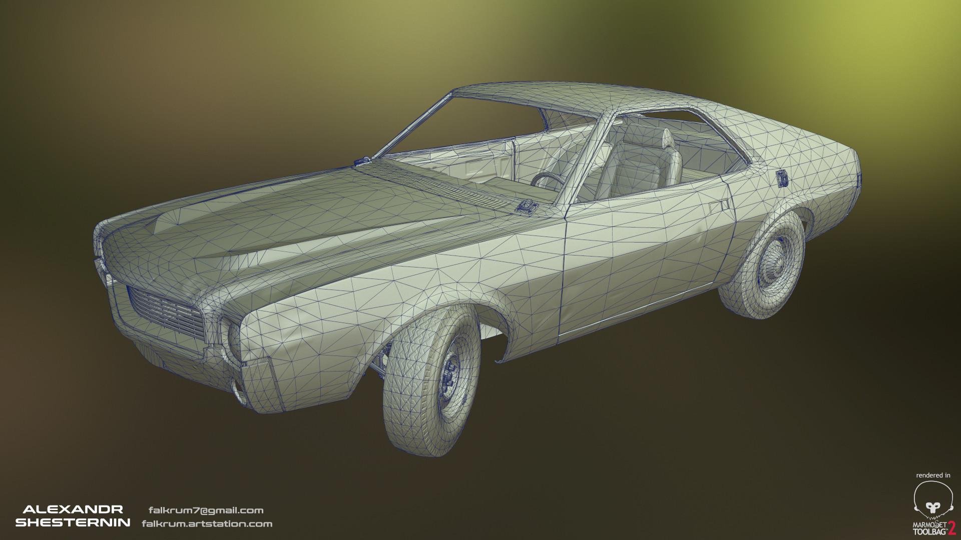 Alexandr shesternin modular abandoned car10